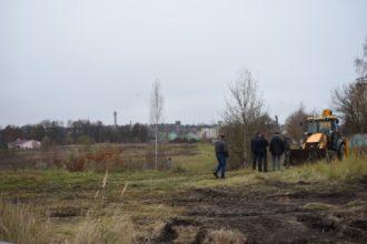 В Дятьково началось строительство спорткомплекса с бассейном