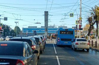 Брянцев возмутила опасная езда водителя «синего» автобуса