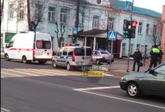 В Брянске возле железнодорожного колледжа случилось ЧП