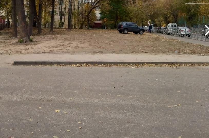 В центре Брянска появилось отличное место под парковку