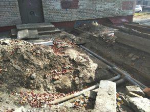 В Брянске коммунальщики начали отапливать дворы
