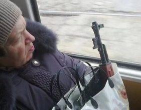 В Брянске пенсионерка устроила дуэль с водителем маршрутки