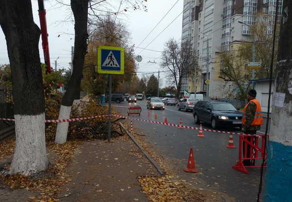 В Брянске появился светофор возле остановки «Горбольница №4»