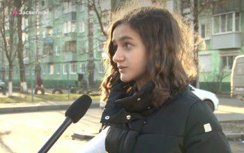 В Брянске школьница рассказала, как её сбил автобус