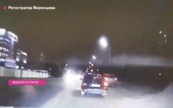 В Брянске появилось видео с регистратора виновника жуткого ДТП на Речной