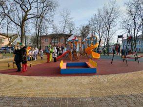 Александр Богомаз торжественно открыл сквер Щорса в Клинцах