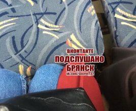 Брянцы пожаловались на тесные сиденья в маршрутке