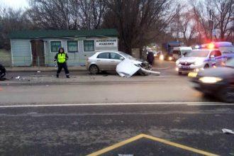 В ДТП на трассе под Брянском ранена 44-летняя автоледи