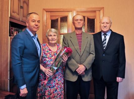 В Брянске отметил юбилей ветеран гражданской обороны Александр Тарасенко