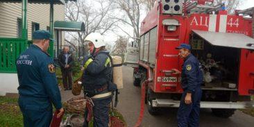 В Стародубе эвакуировали школу-интернат и больницу