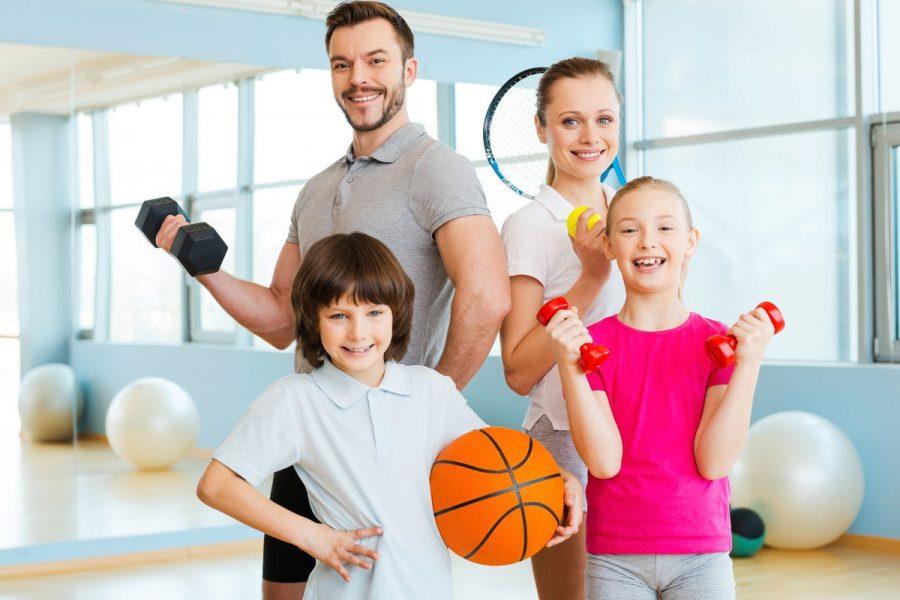 Брянцев пригласили на семейный спортивный праздник