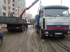 В Брянске пожаловались на ужасную дорогу на переулке Пилотов