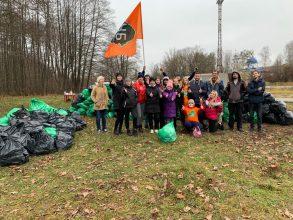 В Брянске очистили от мусора лес «Заставище»