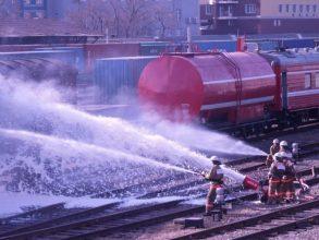 Под Навлей загорелся поезд «Москва-Киев»