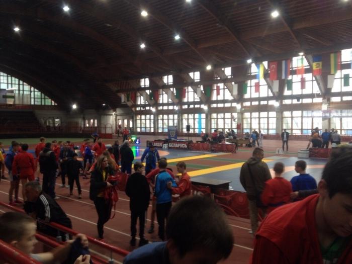 Брянские самбисты завоевали медали международного турнира