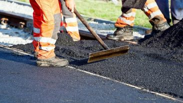 В Климово за 5,5 млн рублей отремонтировали километр дороги