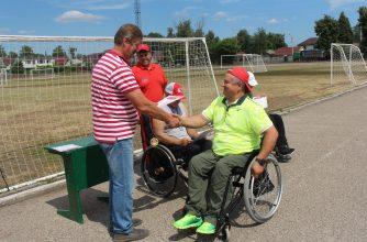 В Брянске инвалиды-колясочники сдают нормы ГТО