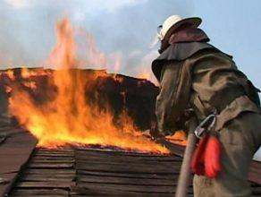 В Навле вспыхнул пожар в жилом доме