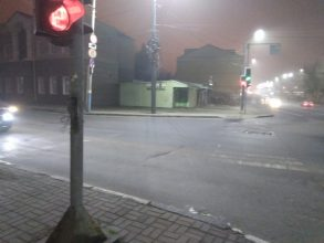 Брянцы пожаловались на светофор на улице Калинина
