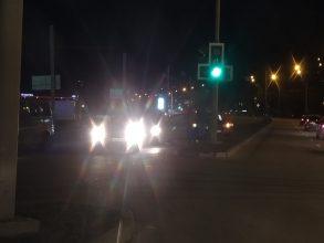 В Брянске возле фокинской «Линии» столкнулись две легковушки