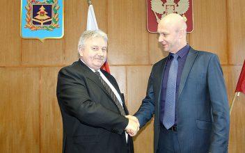 Главой Погарской районной администрации избран Сергей Цыганок