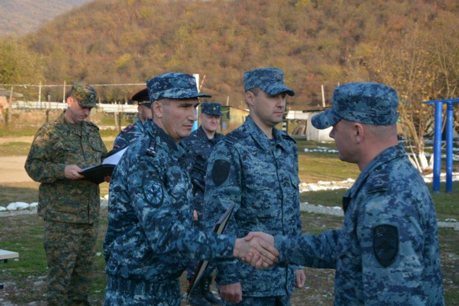 Брянских полицейских в Чечне навестил руководитель регионального УМВД