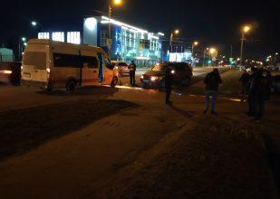Стали известны подробности столкновения маршрутки №59 и Volvo в Брянске