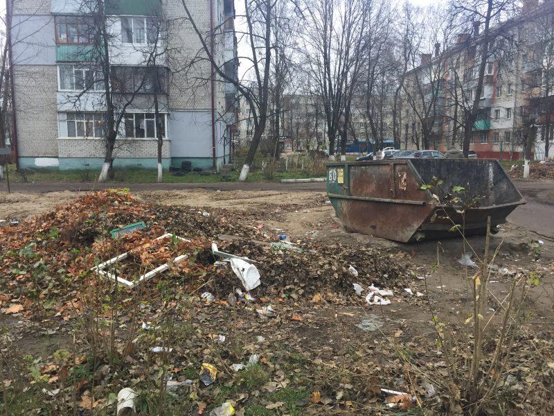 В Брянске жители Нового городка позавидовали живущим в центре землякам