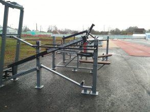 В Стародубе продолжается строительство спорткомплекса