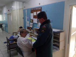 Из Выгоничской больницы эвакуировали пациентов и сотрудников