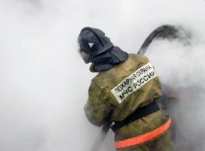 В брянском селе ночью сгорела частная баня