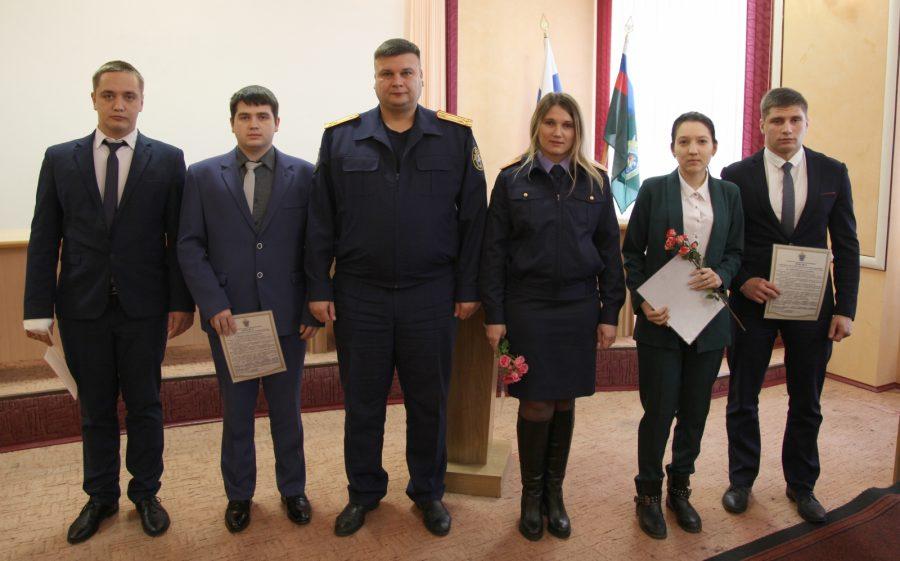 Брянские молодые следователи приняли присягу