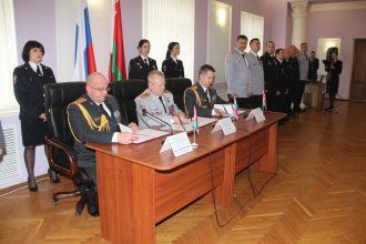 Брянские полицейские договорились о сотрудничестве с белорусскими коллегами