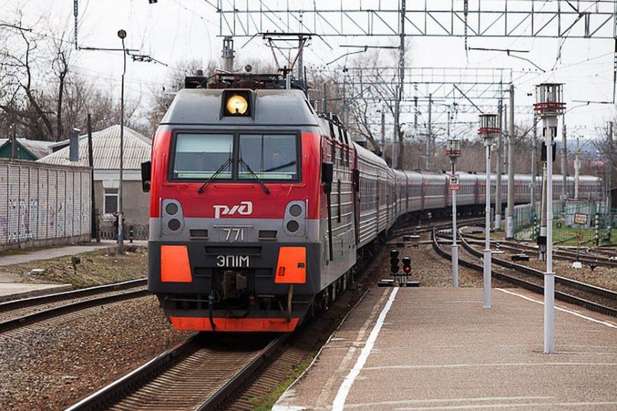 Брянских детей с признаками отравления сняли с поезда из Кисловодска