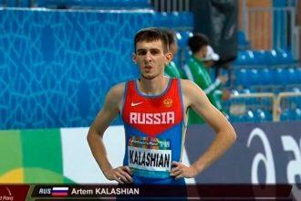 Брянский атлет Артем Калашян взял бронзу на чемпионате мира в Дубае