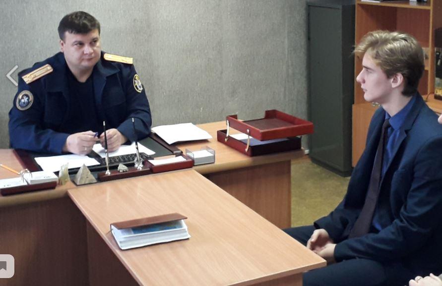 В Новозыбкове главный брянский следователь провел приём