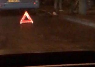 В Брянске госпитализировали сбитого автобусом человека
