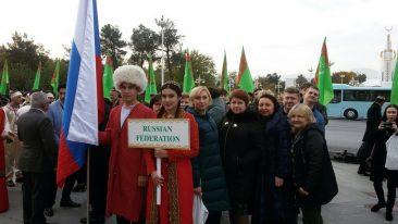 Брянский театр кукол выступил в Ашхабаде
