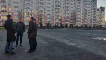 На улице Романа Брянского в декабре откроют спортплощадку