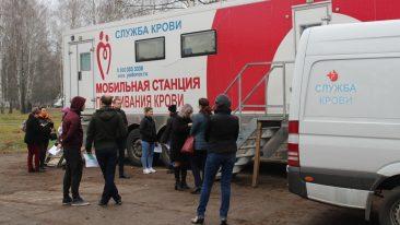 В Жуковке прошла донорская акция