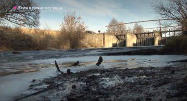 Под Почепом сильно обмела река Судость