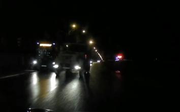 В Брянске на Речной сняли автохама на грузовике