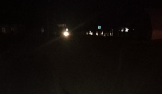 В Белых Берегах две улицы остались без света