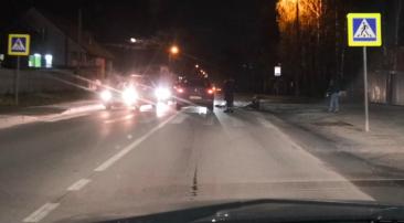 В Брянске на Карачижской легковушка сбила пешехода