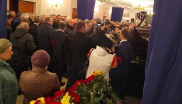 В Брянске проходит прощание со Степаном Понасовым
