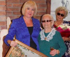 В Брянске Валентина Политова отметила 100-й день рождения
