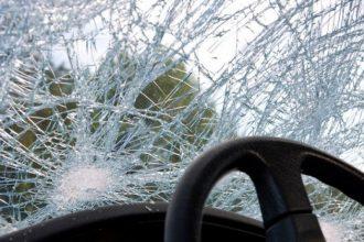 В Клетнянском районе перевернулась иномарка: ранена пенсионерка