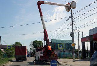 В Брянске более двух тысяч светильников заменили на светодиодные
