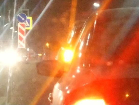 Брянские чиновники спрятали от водителей светофор