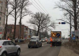 В Брянске запрет поворота на переулок Пилотов снимут после открытия новой дороги на Советской